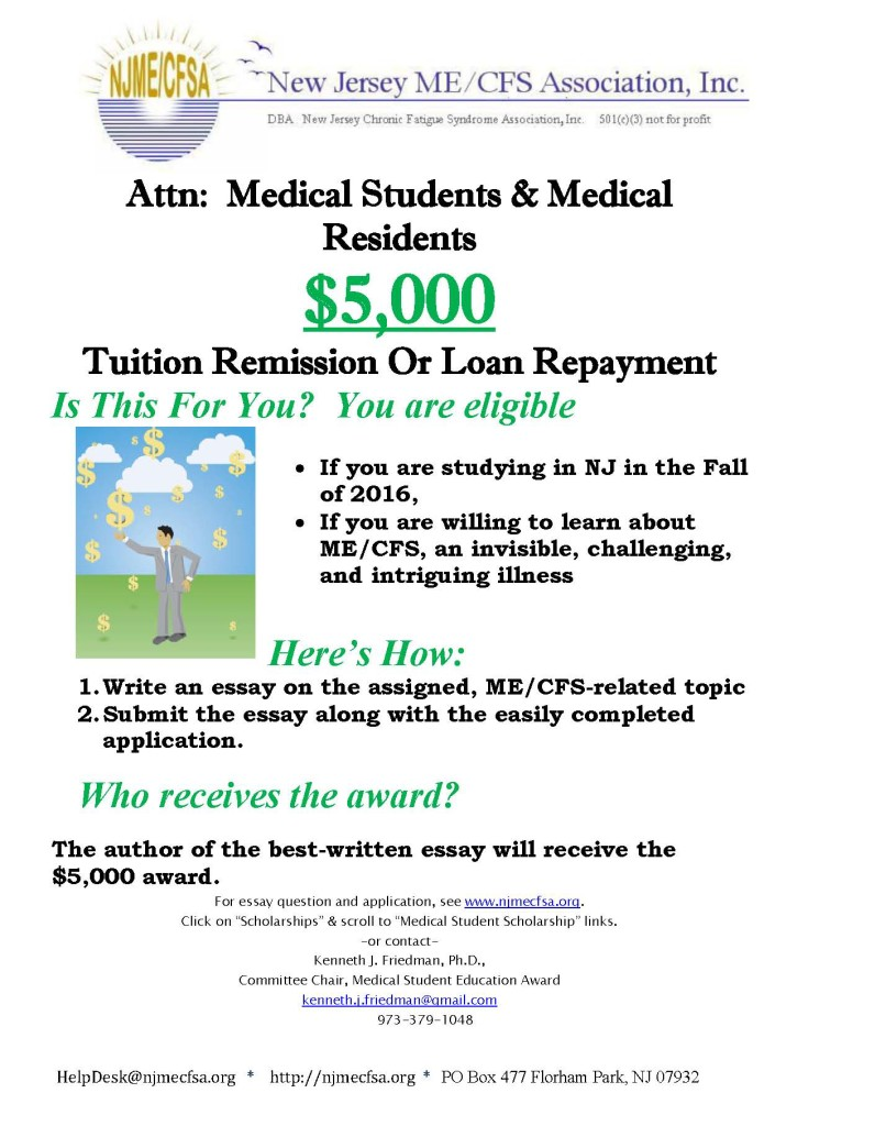 2016 Medical Scholarship Flyer
